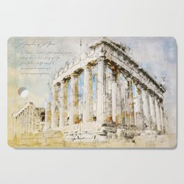 Acropolis, Athens Greece Cutting Board