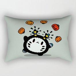 Halloween series - juggle juggle juggle.... Rectangular Pillow