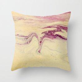 Gjord av Sten Throw Pillow