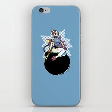 Bomber Babe iPhone & iPod Skin
