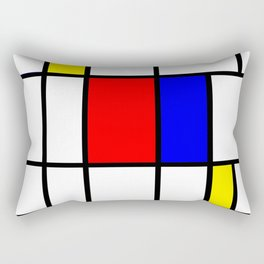 Mondrian #64 Rectangular Pillow