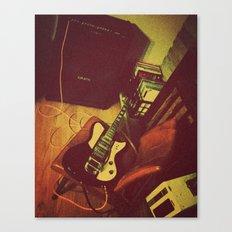 Matilda  |  Electric Guitar Canvas Print