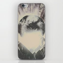 New day new mountains to climb iPhone Skin