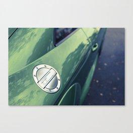 Green TT Canvas Print
