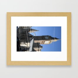 London Blues Framed Art Print