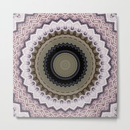Some Other Mandala 717 Metal Print