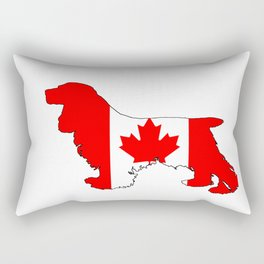 Canada Cocker Spaniel Rectangular Pillow