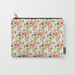Fun Fruit and Veges Carry-All Pouch