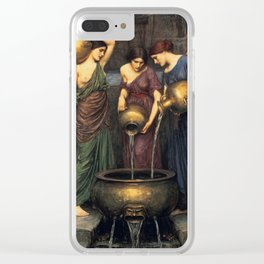 John William Waterhouse - Danaides Clear iPhone Case