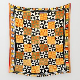 North Afghanistan Cotton Quilt Print Wall Tapestry