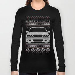 E46 sedan Ugly Christmas Sweater Long Sleeve T-shirt