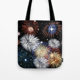 Grand Finale Firework Show Tote Bag