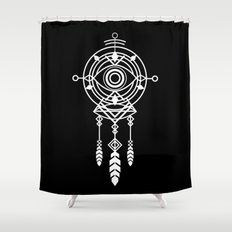Cosmic Dreamcatcher Shower Curtain