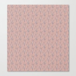 Floral Pink Branches Canvas Print