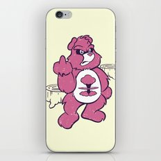 Don't Care Bear  iPhone & iPod Skin