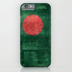 Flag of Bangladesh, Vintage Version iPhone 6s Slim Case