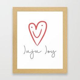 Juju Joy Framed Art Print