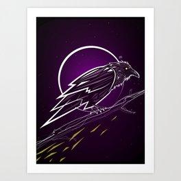 Neon Night 4 Art Print