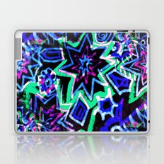 Pop Art Blues Laptop & iPad Skin