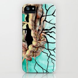 Root Hands iPhone Case