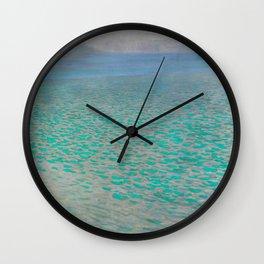 """Gustav Klimt """"Lake Attersee"""" Wall Clock"""