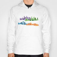 cities Hoodies featuring Australian Cities by S. Vaeth