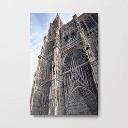 Gothic Style Wonder Metal Print