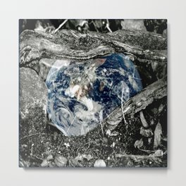 Nourish Mother Earth Metal Print