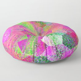 Color Explosion Floor Pillow