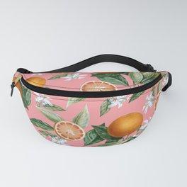 Lemon and Leaf Pattern V Fanny Pack