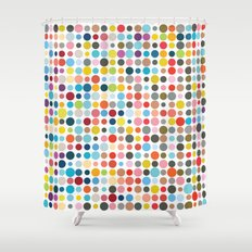 Tangled Up In Colour Shower Curtain