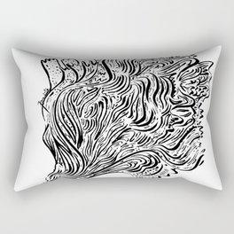 Flow 007 Rectangular Pillow