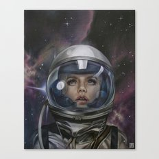 Astro Girl Canvas Print