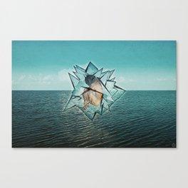 Crystalizis Canvas Print