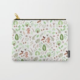 Nature Pattern Carry-All Pouch