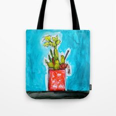 Sunday Funday Bloody Mary Mania Tote Bag