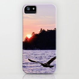 Fly into the Sunset iPhone Case