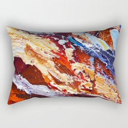 Vibrancy  Rectangular Pillow