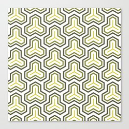 Groove Series - C Canvas Print