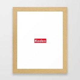 Kaden Framed Art Print