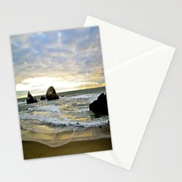 Glowing Beach Stationery Cards