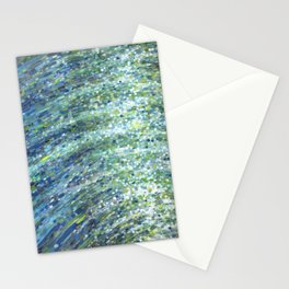 Shimmerin Ocean Wave Reflections Stationery Cards