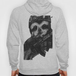 Solider Dr. Rollo-Koster, the sloth  Hoody