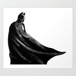 The hero Gotham deserves Art Print