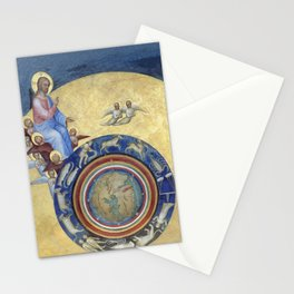 Giusto de' Menabuoi - Creation - Baptistery of the Cathedral of Padua 1377 Stationery Cards