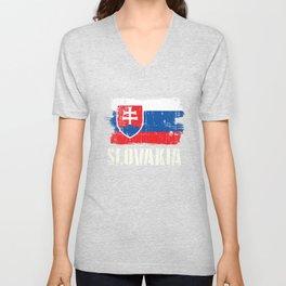 World Championship Slovakia Tshirt Unisex V-Neck