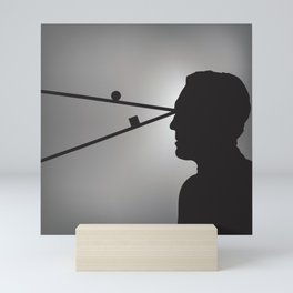 The Prisoner is Being Tested Mini Art Print
