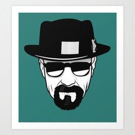 Heisenberg Print Art Print