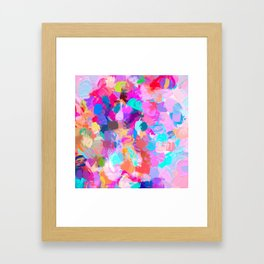 Candy Shop #painting Framed Art Print