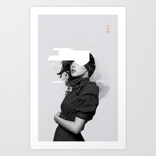Synthesize 02 Art Print